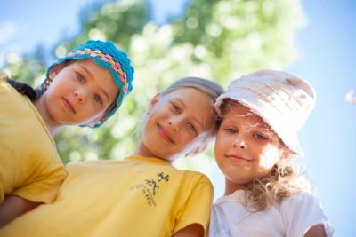 Дети в летнем лагере Альбатрос