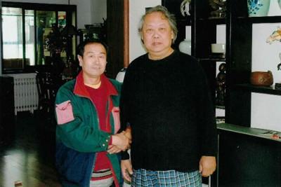 Встреча мастера Му Юйчуна и Сюй Футуна, Пекин 2004 г.