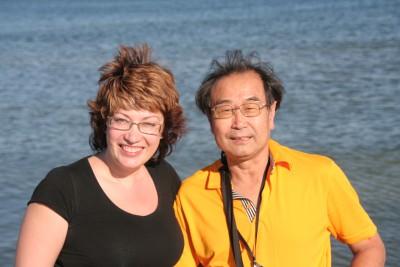 Му Юйчун и Хомутовская Оксана. 2011