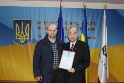 Кравчук Александр и его Учитель Му Юйчунь