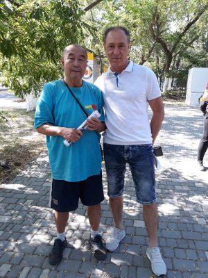 Виталий Горошоченко, Мастер Му ЮЙчунь, Лето 2019