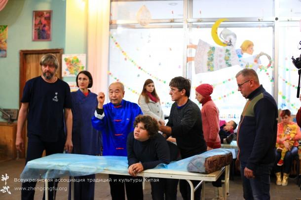 Му Юйчунь, ДЦП, аутизм, дауна, особенные дети, Полтава, 2017