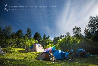 юйчунь, палаточный лагерьЗакарпатье, семинар, Му